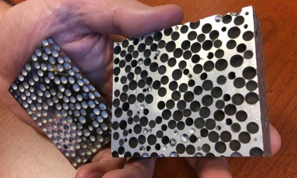 Composite Metal Foam: Lighter but More Effective Armor