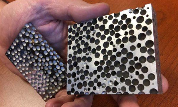 Composite Metal Foam: Lighter but More Effective Armor